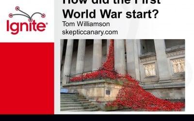 Tom Williamson – How Did The First World War Start?