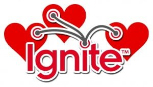 Ignite Love heart