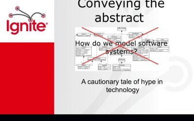 Doug Arnold – Conveying the abstract – How do we model software systems?