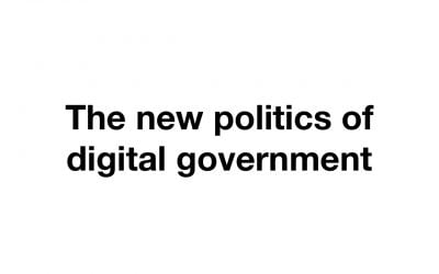 The politics of digital government – Richard Pope