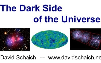 Five Minutes on the Dark Side of the Universe – David Schaich