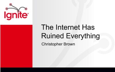 The Internet has ruined everything – Chris Brown
